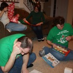 Opening the 2011 Christmas books!