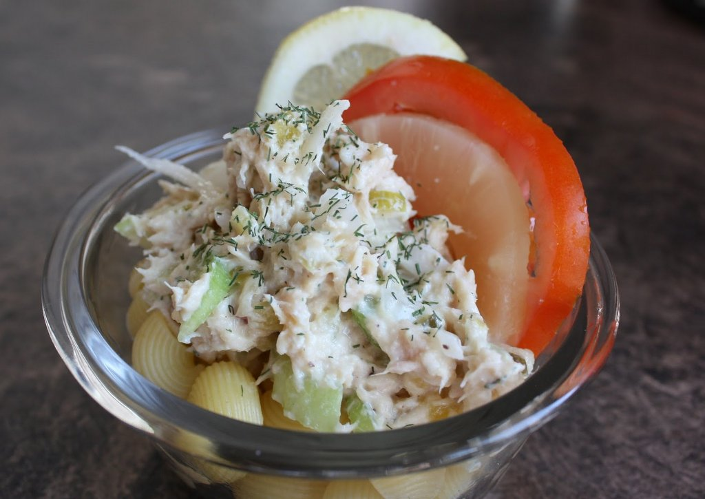 Tuna Salad with Pasta