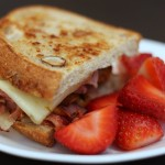 Ham and Pepper Jack Panini