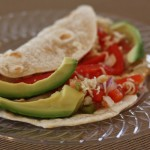 Chicken Fajita with Avocados