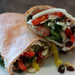 Turkey Tomato Wrap
