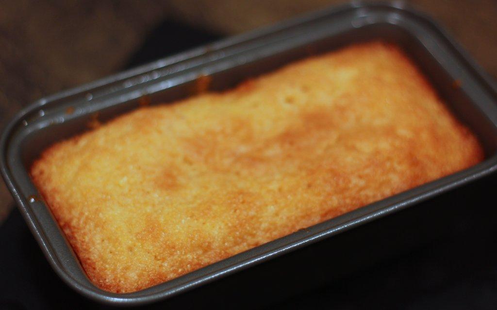 Cornbread Pound Cake
