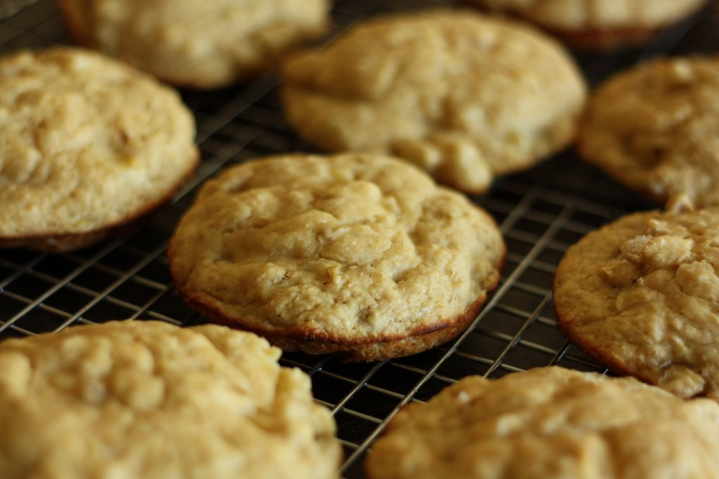 Banana Muffin Tops for the Healthy Heart
