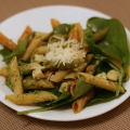 Chicken Pesto Pasta with Spinach