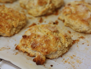 Oat Flour Biscuits