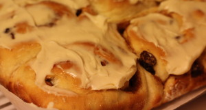 Cinnamon Rolls with Potato Flakes