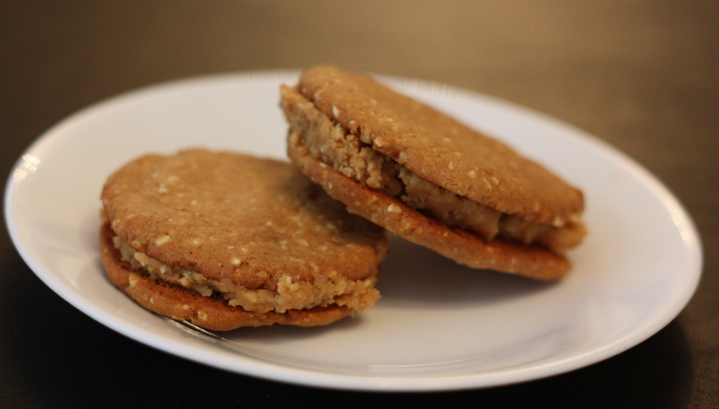Peanut Butter Sandwich Cookies – Jazzy Morsels