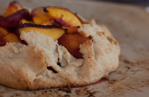 Peach Gallette