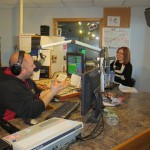 Chris Farber and me in the Y105 studio!