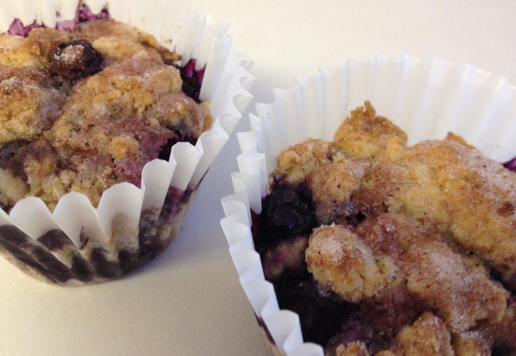 Successful Blueberry Muffins