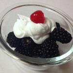 Berries with Whipped Cream