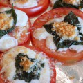 Broiled Tomatoes with Fresh Basil