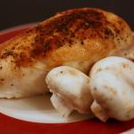 Baked Chicken Breast Halves on the Bone