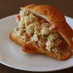 Chicken Curry Salad Croissant Sandwich