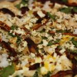 Thin Crust Chicken Pizza