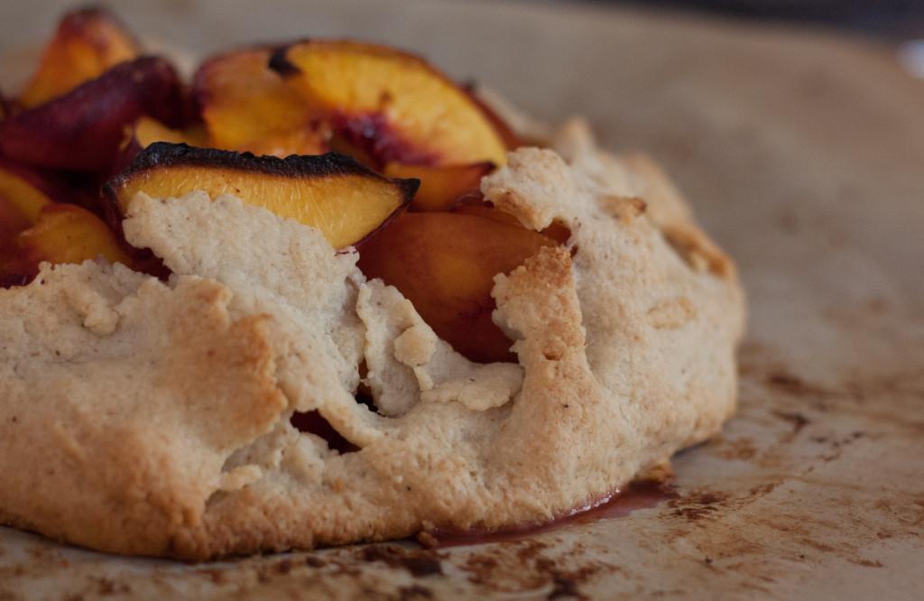 Peach Gallette